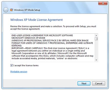 reset password virtual xp mode install and use xp mode in windows 7