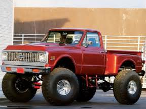 1972 chevy 4x4 never say never