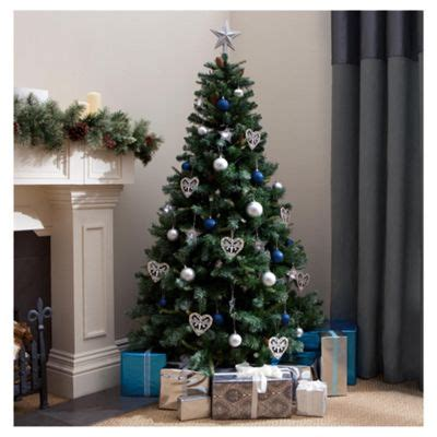 morrisons 6ft christmas tree buy snow alps spruce 6ft tree tesco from our trees range tesco