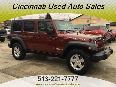Jeep Dealer Cincinnati 2010 Jeep Wrangler Unlimited Rubicon For Sale In