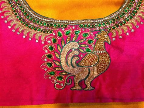 blouse pattern works sparkling fashion latest maggam work designs for saree