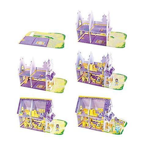 purple doll house melissa doug pretty purple dollhouse 3d puzzle 7870056 hsn