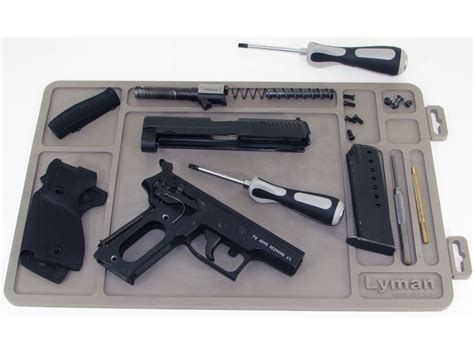 Handgun Cleaning Mat by Lyman Essential Handgun Gun Cleaning Maintenance Mat 10 X