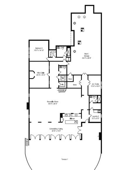 The Nanny Floor Plan by The Nanny Sheffield House Floor Plan House Plans