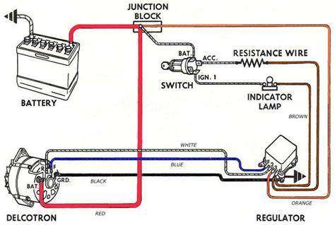 universal alternator wiring diagram wiring automotive
