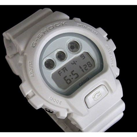 Casio Dw 6900ww casio g shock カシオ 腕時計 dw 6900ww 7 ソリッドカラーズ g ショック 白 ホワイト