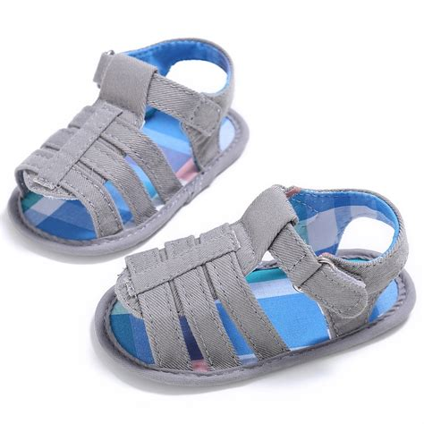 infant sandals baby infant boy soft sole crib sandals toddler