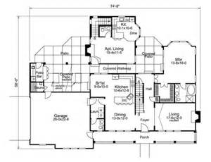 House Plans With Separate Apartment by Multi Generational House Plans Memes