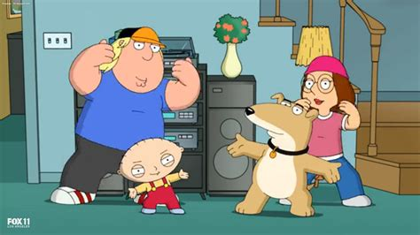 family dogs new family removes brian in new opening credits reporter