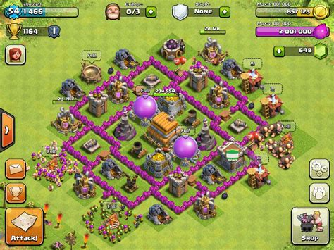 base layout editor level 6 town hall ultimate clash of clans guide http