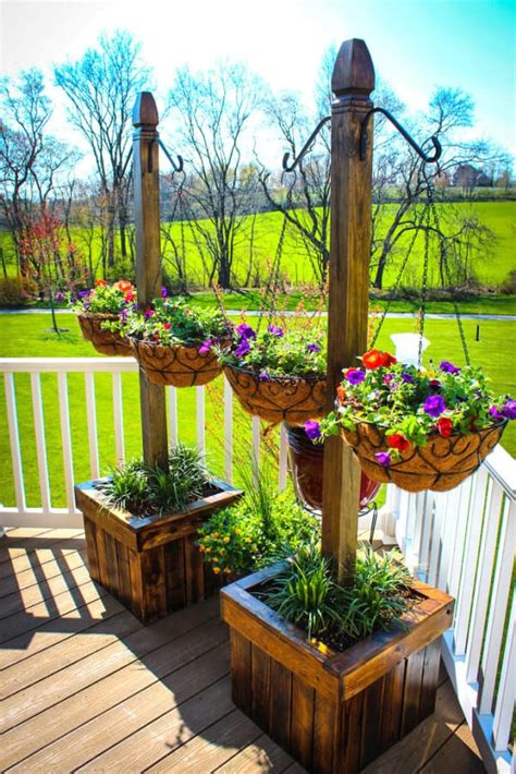 homemade planters man builds diy hanging planters out of old wood palettes