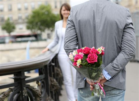 men suggest a site flowers have powers to change men s dating prospects