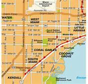 Mappa Miami FL Florida Stati Uniti DAmerica Mappe E Itenerari Da