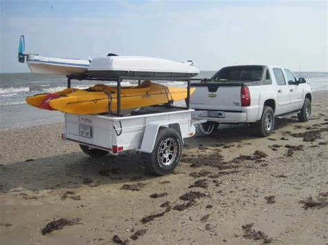 jon boat trailer to kayak trailer kayak trailers 30 photo ideas to buy or build your own