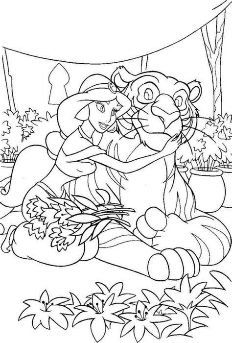 aladdin tiger coloring page 30 kinder malvorlagen tiere zum ausdrucken und ausmalen