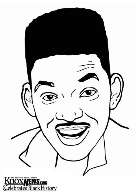 Dibujo para colorear Will Smith - Img 12862