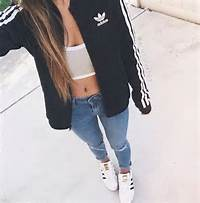 Fashion Style Adidas Superstar Girl  Image 4137962 By Tschissl