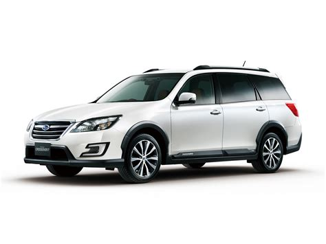 subaru exiga crossover 7 subaru introduces exiga crossover 7 in japan carscoops com