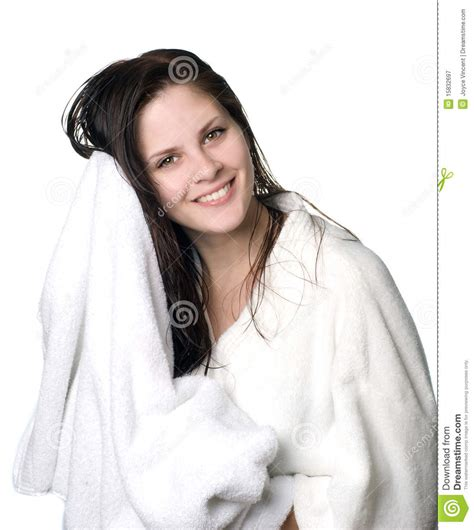 After Shower by After Shower Royalty Free Stock Photography Image