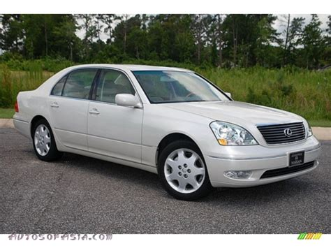 crystal ls for sale 2001 lexus ls 430 in parchment crystal 033715 autos of