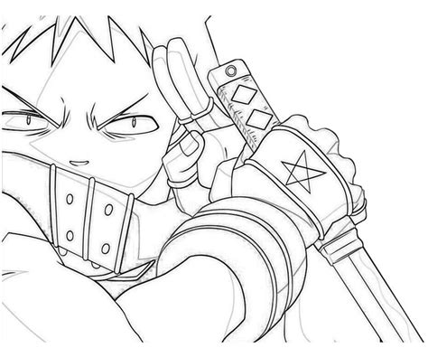 Anime Character Coloring Pages Anime Character Coloring Pages