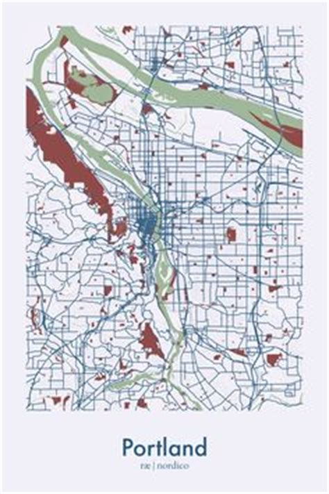 portland oregon usa map official map translink and rail network brisbane and