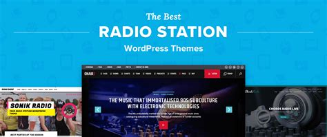 best radio stations 5 best radio station themes for professional