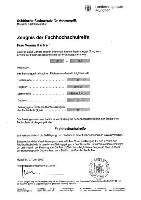 Lebenslauf Abitur Oder Allgemeine Hochschulreife fachhochschulreife