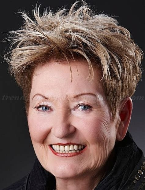 Messy Hairstyles For Women Over 60 | short hairstyles over 50 short messy hairstyle for women