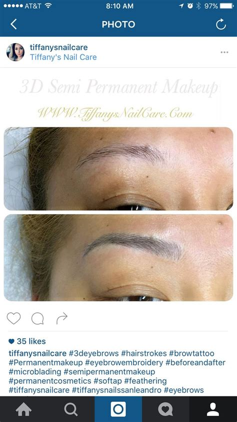 3d effect hair stroke eyebrow tattoo 21 best brows images on brow brows and dip brow