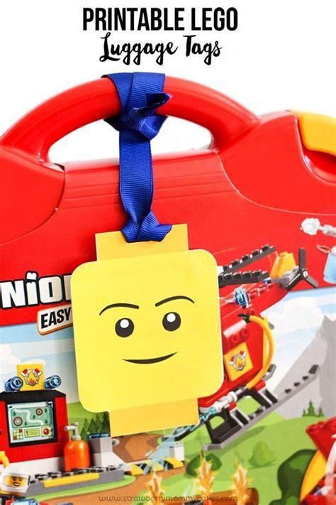 free printable lego gift certificates printable lego luggage gift tags lego gift and free
