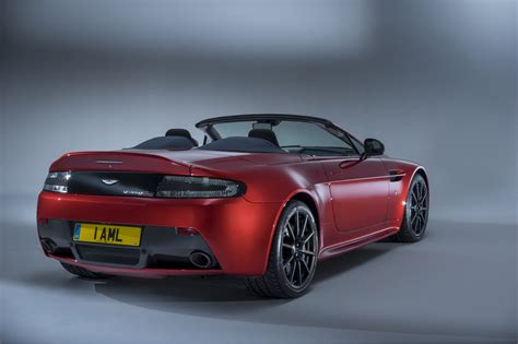aston martin back new aston martin v12 vantage s roadster fastest
