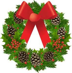 christmas wreath pictures clip art clipart best