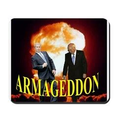 Mousepad Armageddon and humorous topical t shirts mugs hats bags calendars greeting cards mousepads and more