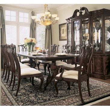 american drew cherry grove dining room american drew cherry grove 10 piece dining room set in