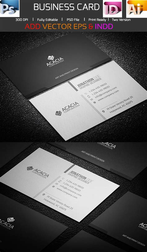 sided business card template illustrator sided business card template illustrator 15 premium