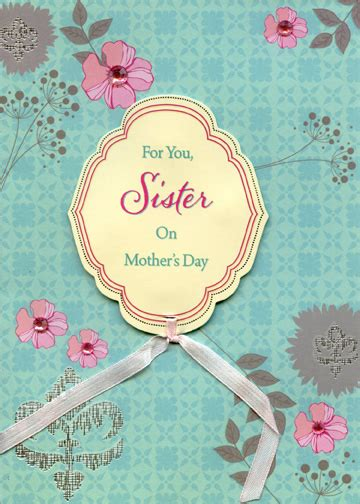 mother s day card handmade red pink paper flowers bouquet gems on pink flowers with ribbon handmade sister designer