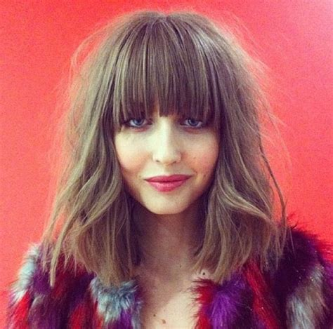 growing out bob pinterest a messy bob fringe must grow out hair hair styles