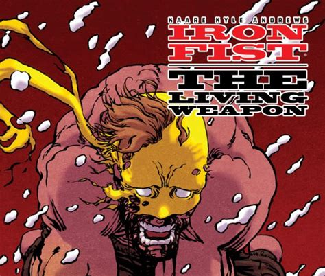 libro iron fist the living iron fist the living weapon 2014 5 comics marvel com