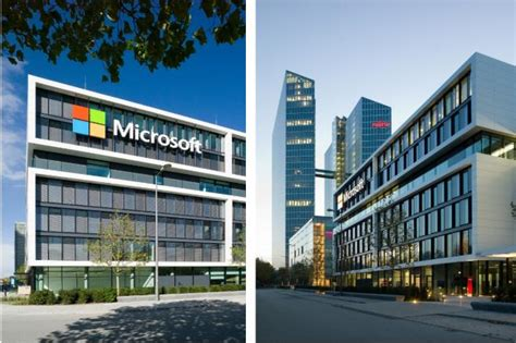 gsp design foto e video la sede centrale di microsoft ora ha una nuova facciata