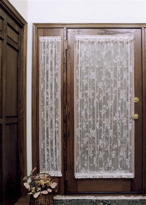 lace door panel curtains heritage lace english ivy door panel 9130dp 26 00