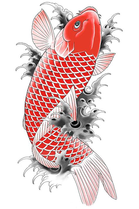 koi tattoo tat design pinterest koi tattoo and