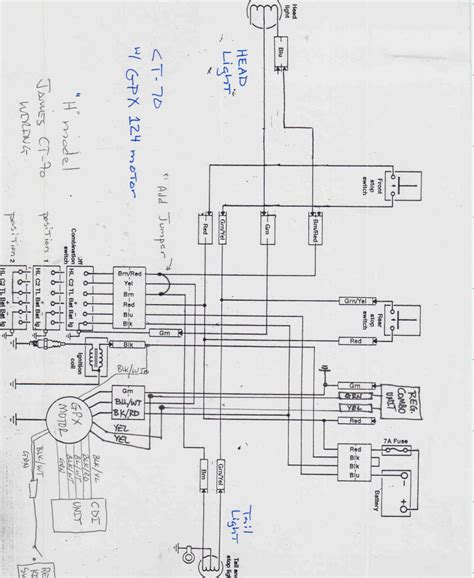 mini chopper 49cc wiring diagram wiring diagram