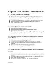 Effective Communication Worksheets Adults by Worksheets Effective Communication