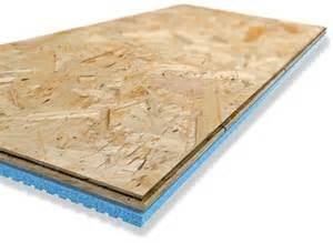 insulfloorboard un panneau isolant pour sous sol insulfloor