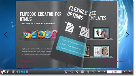 html flip book template new html flip book template free template design