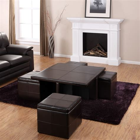 living room sets with ottoman furniture beautiful coffee table ottoman sets for living