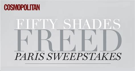 Cosmopolitan Sweepstakes - cosmopolitan fifty shades freed paris trip sweepstakes fiftyshades cosmopolitan com