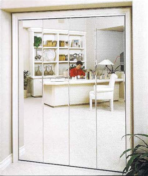 Mirror Closet by Folding Doors Mirrored Folding Doors For Closets