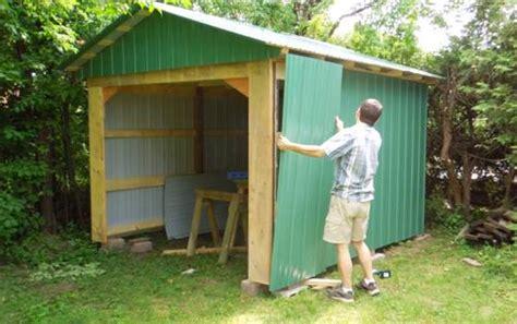 making doors   shed